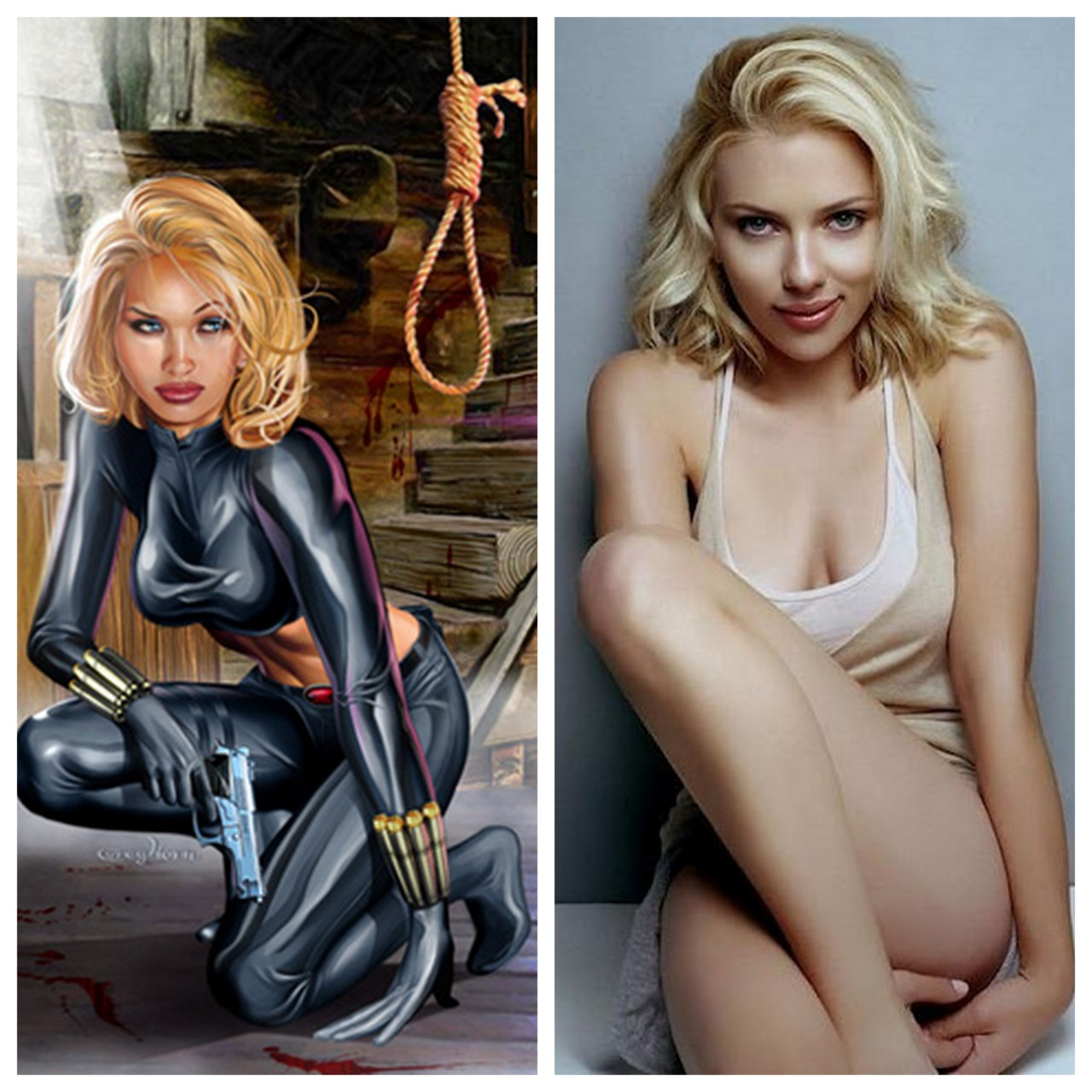 Yelena Belova vs. Scarlet Johannson