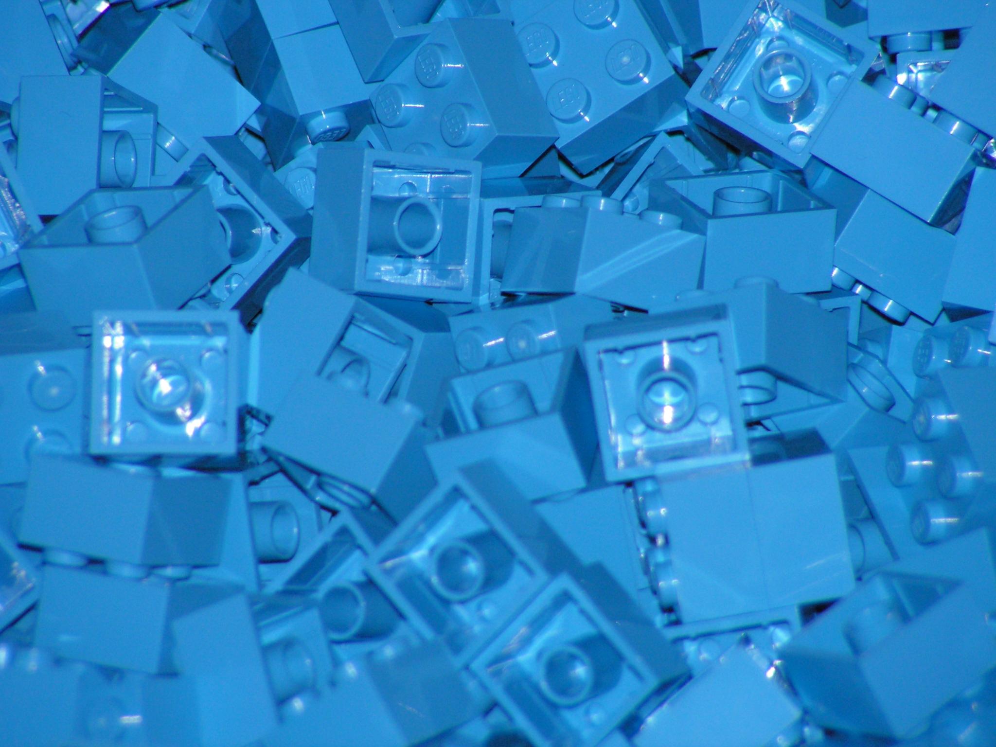 Joelhos calejados de LEGO