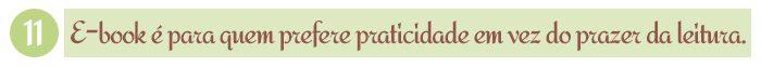 E-book é para quem prefere praticidade em vez do prazer da leitura