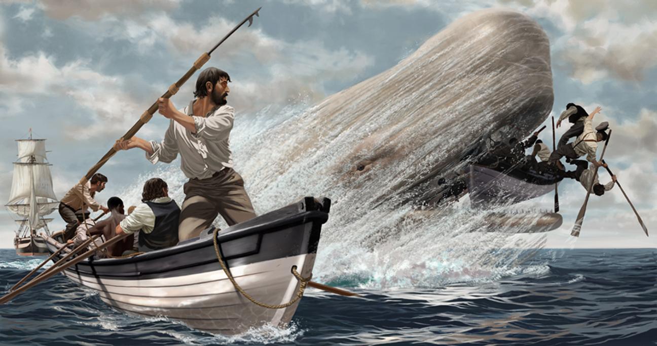 Moby Dick e a crueldade
