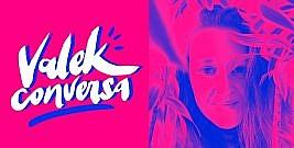 Valek conversa com Jana Viscardi