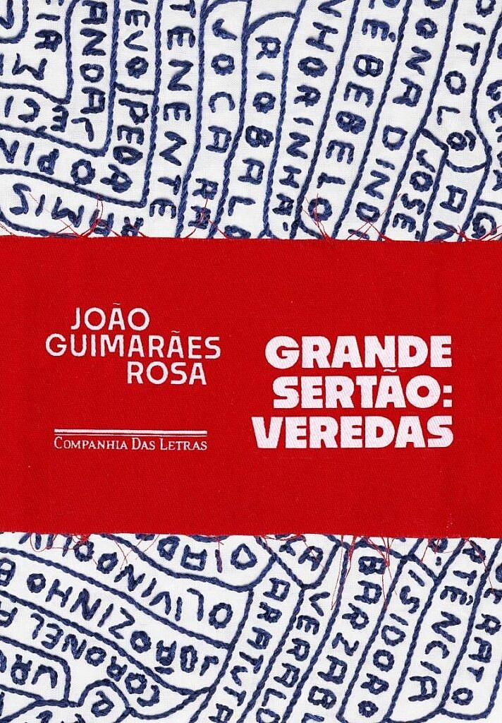 Capa do livro Grande Sertão: Veredas, de João Guimarães Rosa, edição da Companhia das Letras