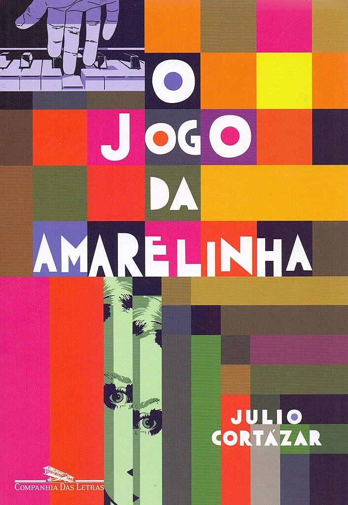 Capa do livro O jogo da Amarelinha, de Julio Cortázar, edição da Companhia das Letras