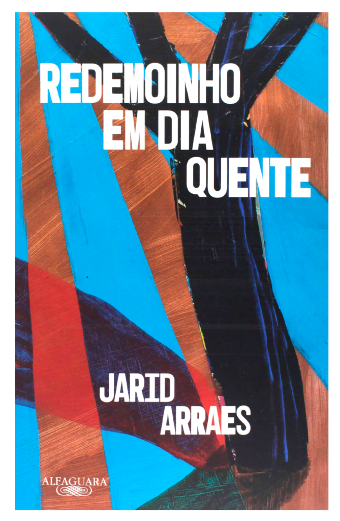 capa do livro Redemoinho em dia quente de Jarid Arraes, da Alfaguara